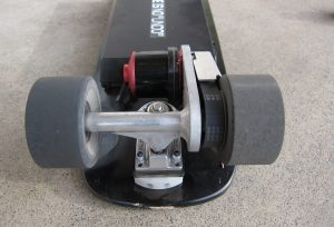 Rear truck of the Metroboard Micro Slim